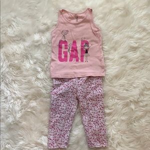 Baby Gap Outfit 3T